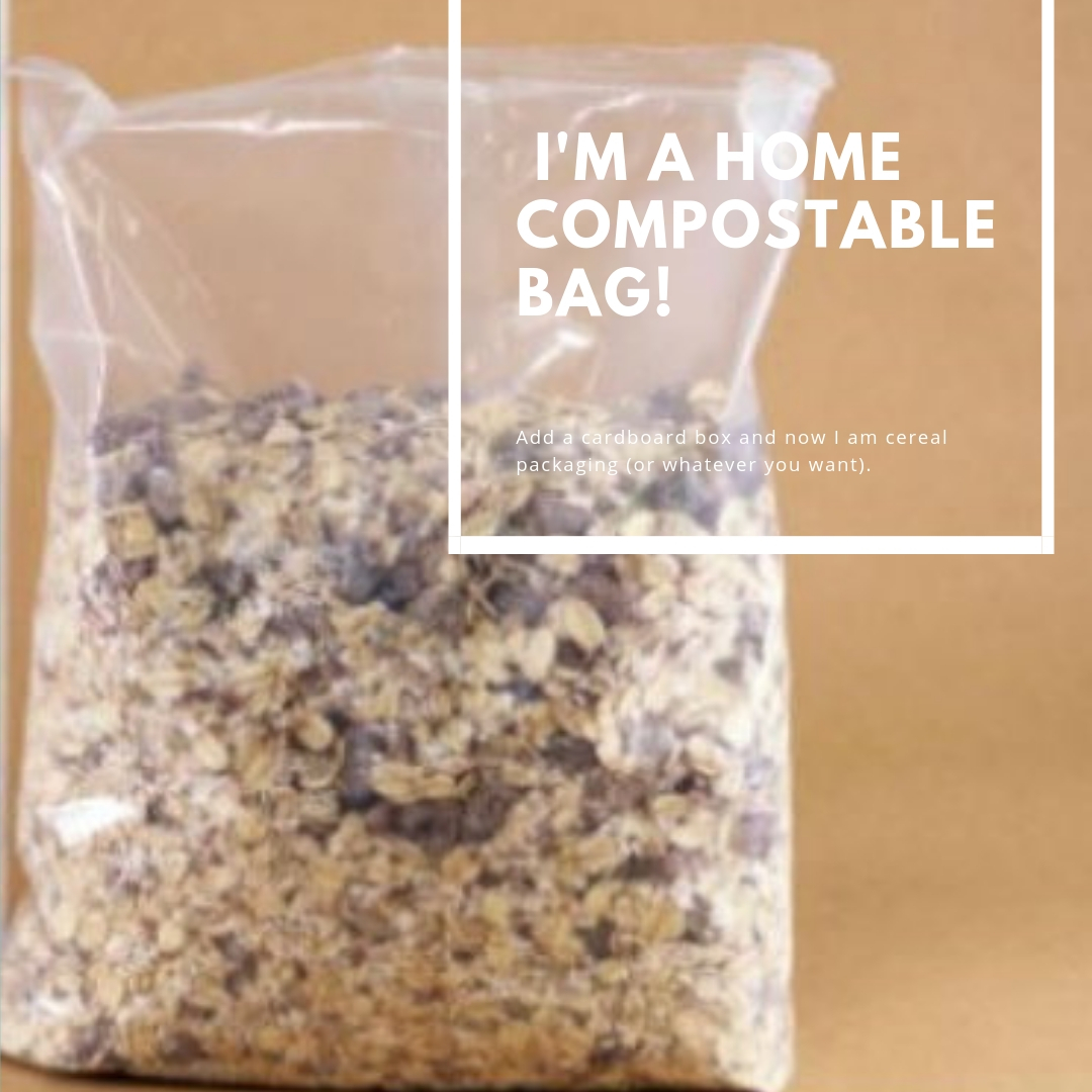 home compostable cereal bag