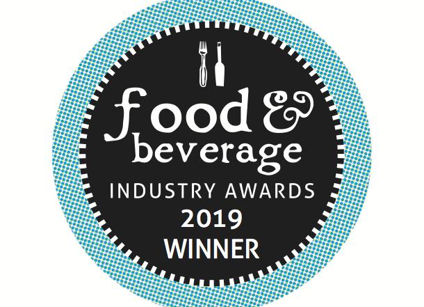 Winner at Food and Beverage 2019 awards